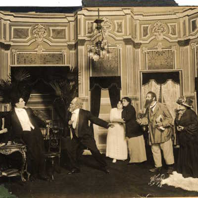 Yiddish Theater Takes Root in America, 1883