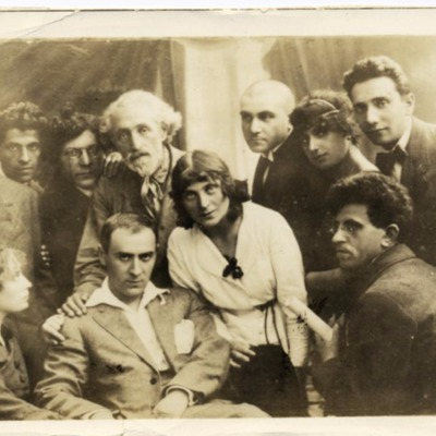 An-ski and Yiddish Actors