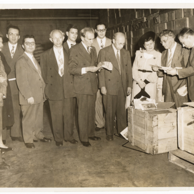 Recovery of remnants of the Theater Museum Collection