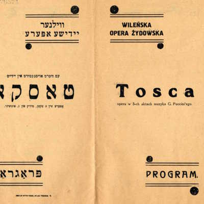 <em>Tosca,&nbsp;</em>Giacomo Puccini